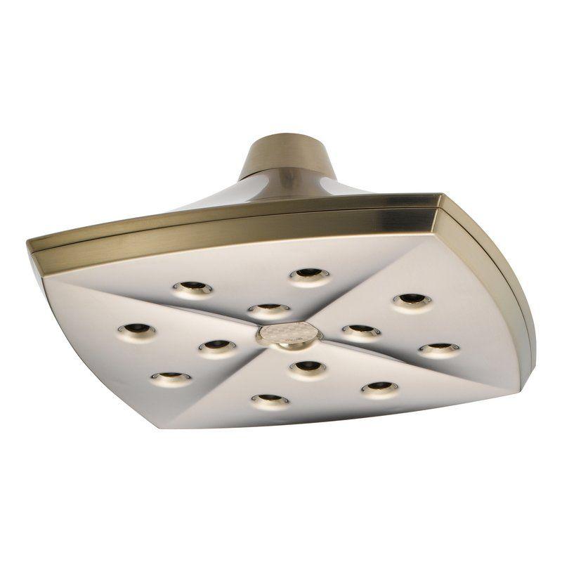 Brizo Charlotte Single-Function Ceiling-Mount Raincan Shower Head