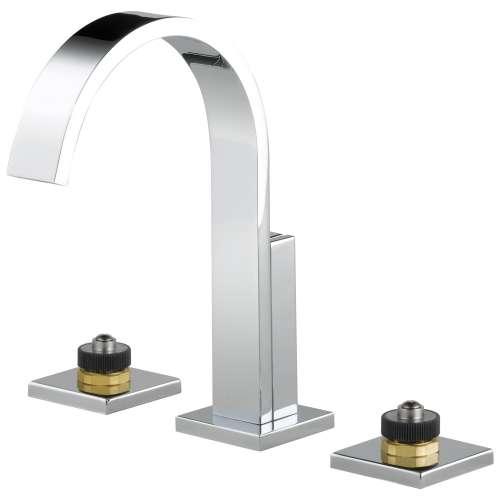 Brizo Siderna 1.2 GPM Widespread Lavatory Faucet Less Handles