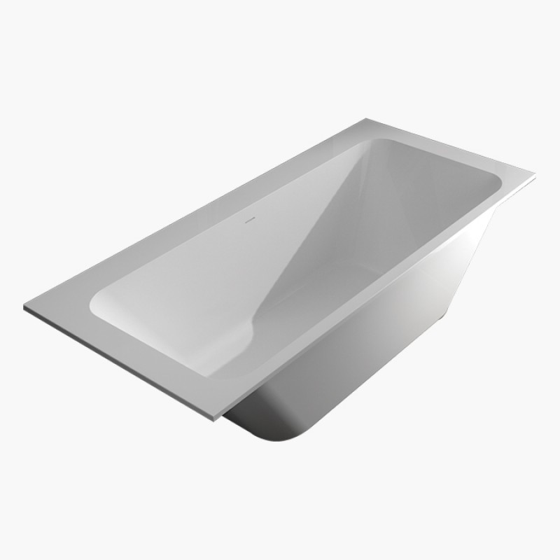 Transolid Zero 66in Freestanding Bathtub