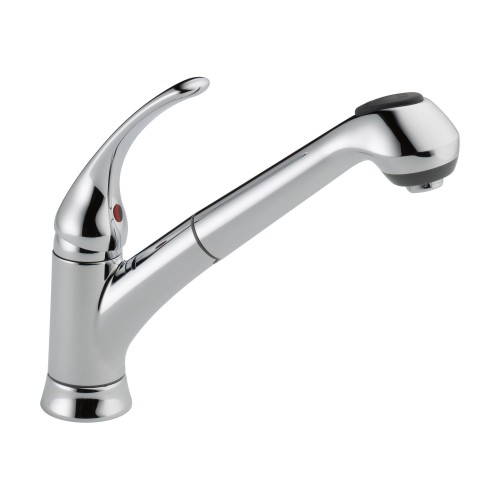 Delta Foundations Single-Handle Pull-Out Kitchen Faucet