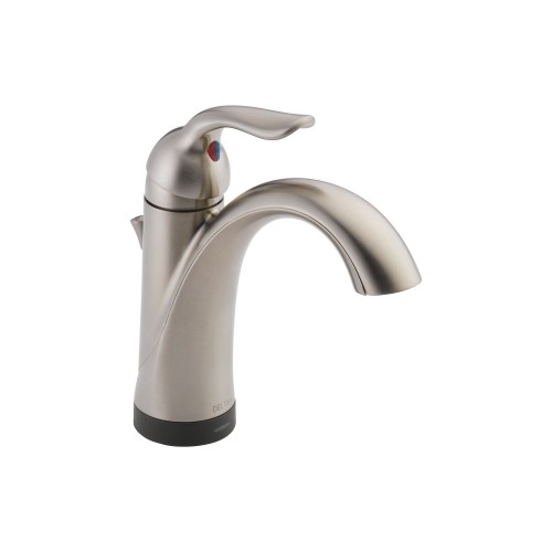 Delta Lahara Single Handle Lavatory Faucet With Touch2O.xt Technology