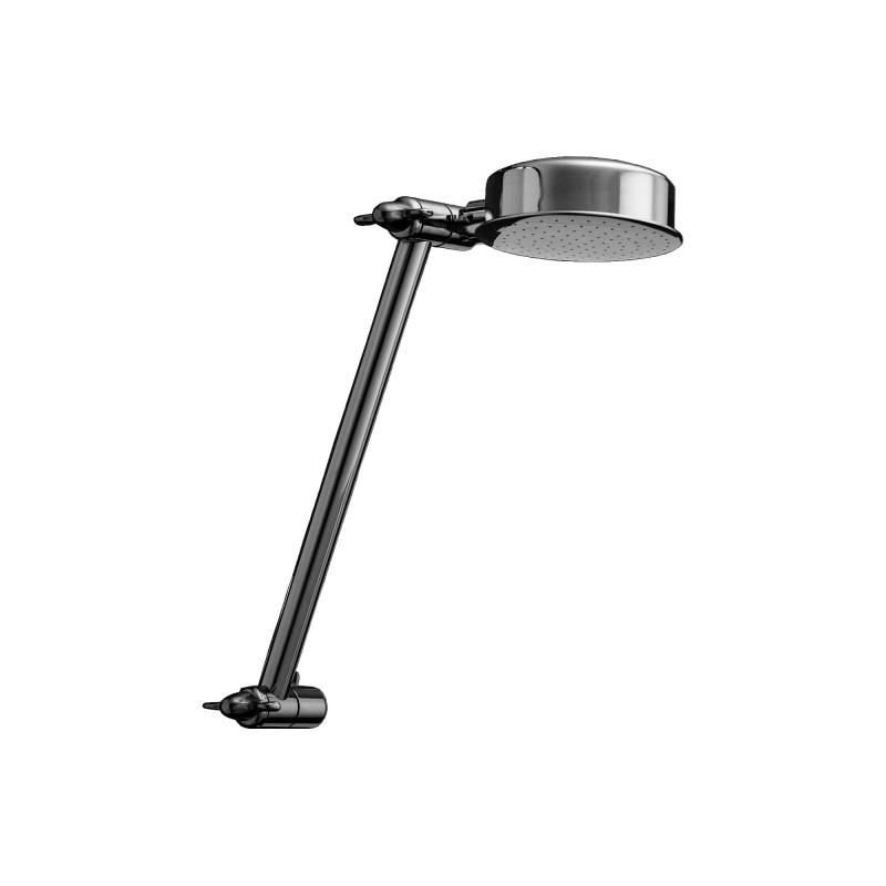 Delta Raincan Single-Setting Adjustable Arm Shower Head