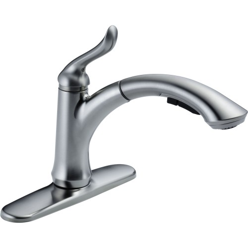 Delta Linden Single-Handle Pull-Out Kitchen Faucet