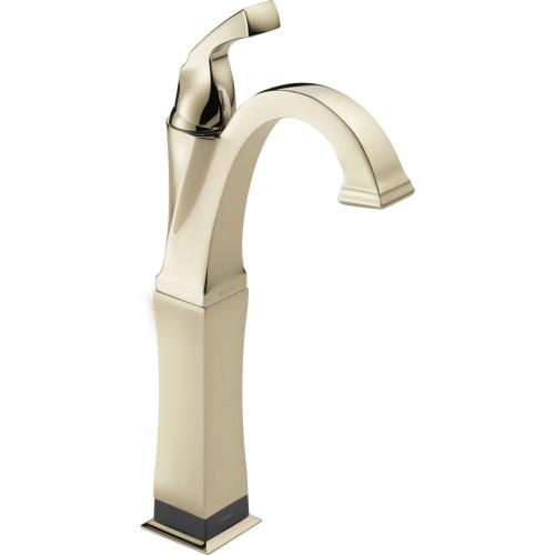 Delta Dryden Single Handle Vessel Touch2O Lavatory Faucet