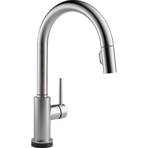 Delta 9159TV-AR-DST Trinsic VoiceIQ Single-Handle Pull-Down Kitchen Faucet