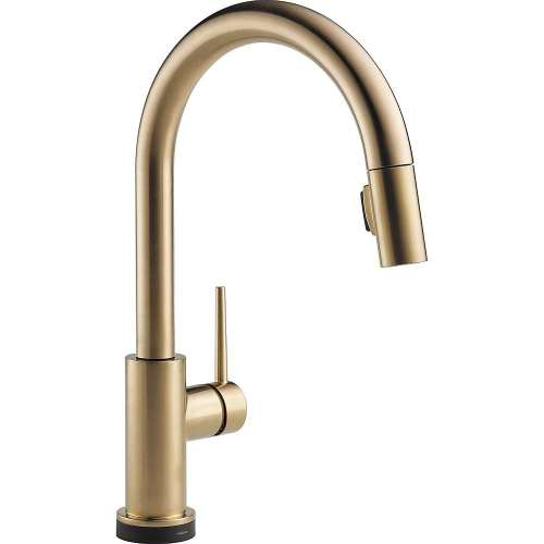 Delta 9159TV-CZ-DST Trinsic VoiceIQ Single-Handle Pull-Down Kitchen Faucet