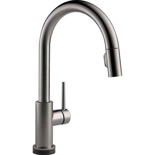 Delta 9159TV-KS-DST Trinsic VoiceIQ Single-Handle Pull-Down Kitchen Faucet