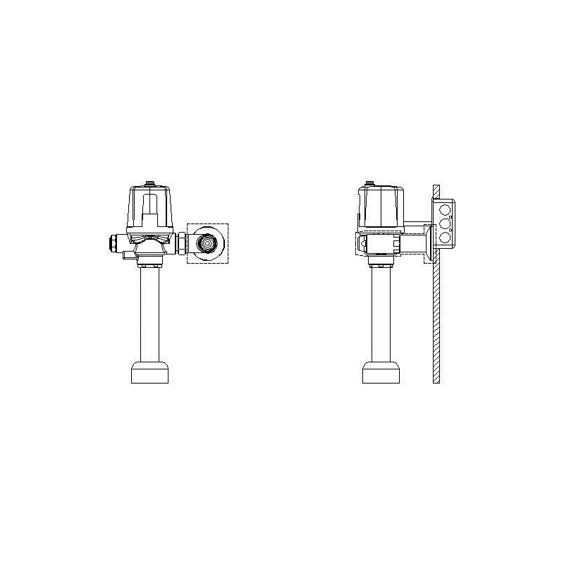 Delta Commercial Motion-Activated Flush Valve