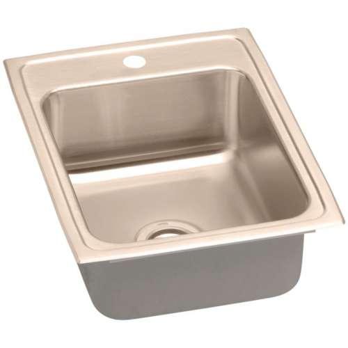 Elkay Lustertone CuVerro Copper Single-Bowl Top-Mount Sink