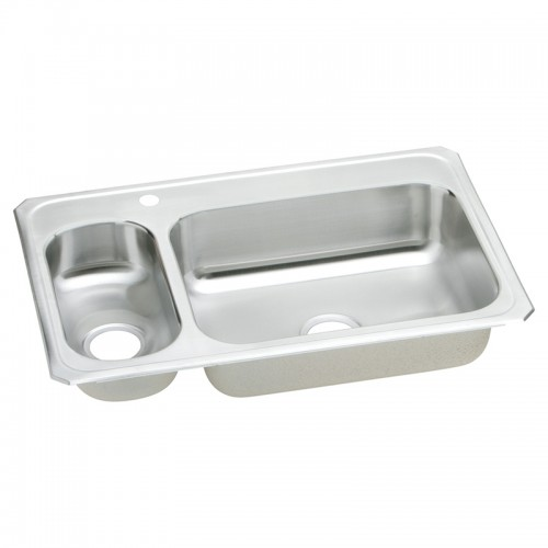 Elkay Gourmet Celebrity Stainless Steel Double-Bowl Top-Mount Sink