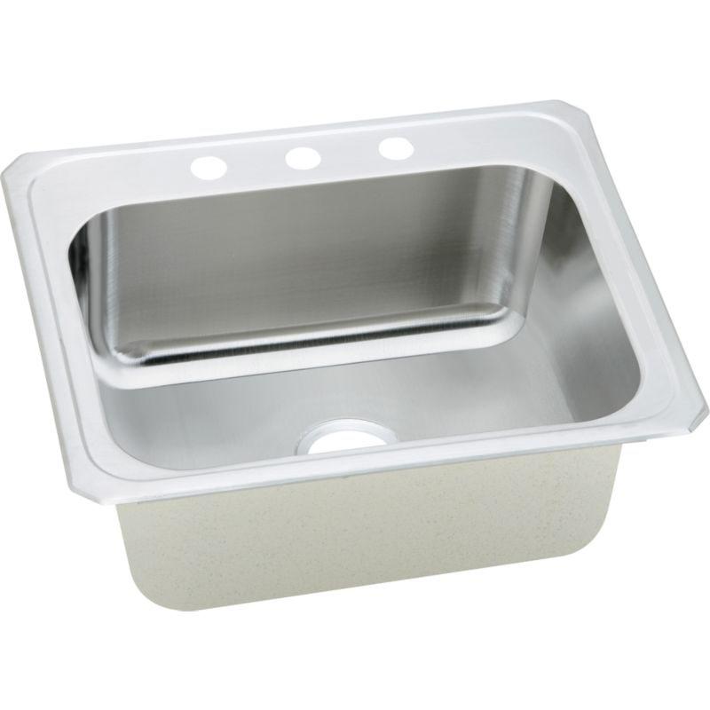 Elkay Celebrity 25-In 20 Gauge Stainless Steel Single-Bowl Drop-In Laundry Sink