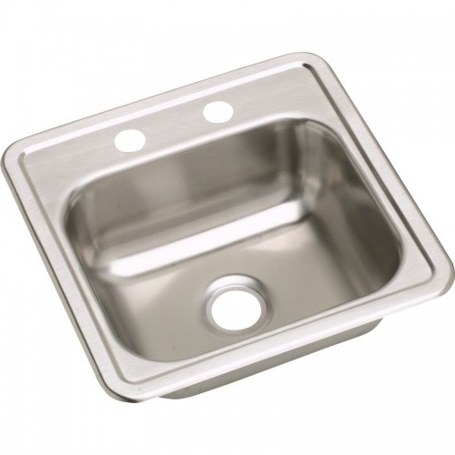 Dayton Classic 15-In Stainless Steel Single-Bowl Top-Mount Bar Sink