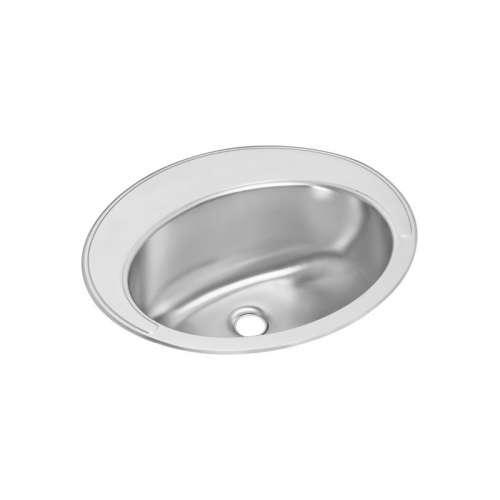 Elkay Asana Lustertone Stainless Steel Single-Bowl Top-Mount Sink