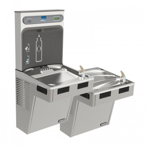 Elkay EZH2O Filtered Bottle Filling Station With Bi-Level ADA Cooler