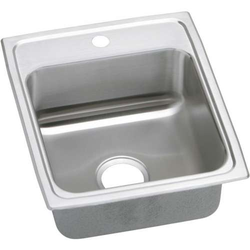 Elkay Celebrity 17-In 20 Gauge Stainless Steel Single-Bowl Drop-In Kitchen Sink