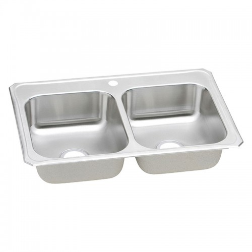 Elkay Gourmet Celebrity Stainless Steel Double-Bowl Top-Mount Sink