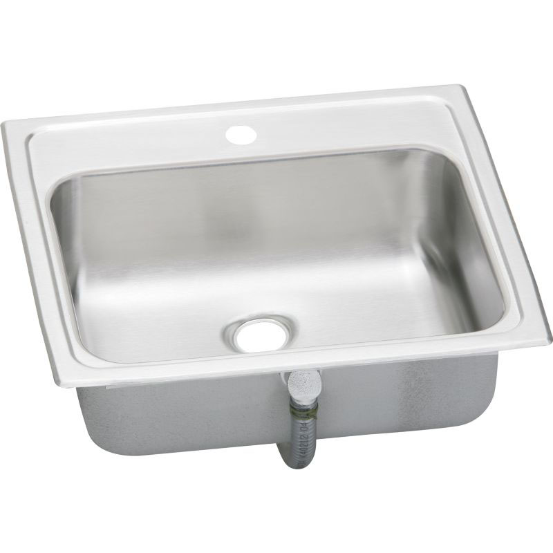 Elkay Asana Pacemaker Stainless Steel Single-Bowl Top-Mount Sink