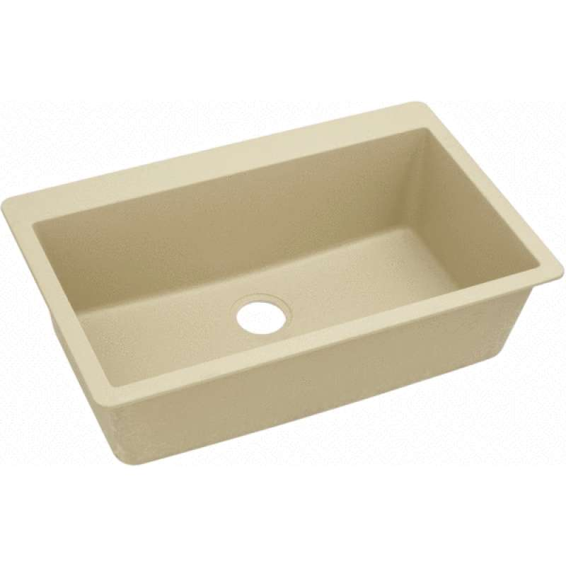 Elkay Quartz Classic 33-In Single-Bowl Drop-In Sink