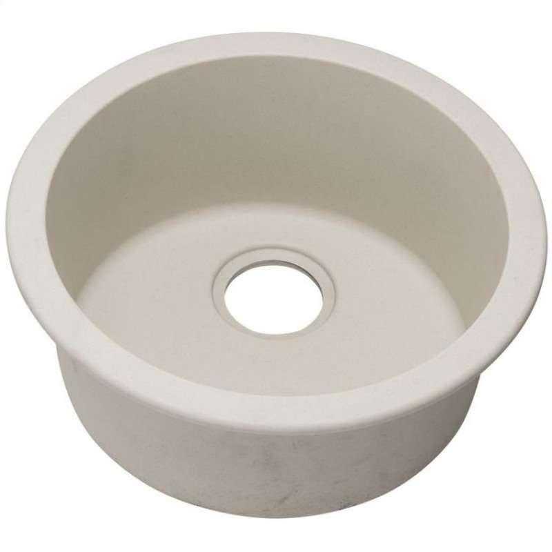 Elkay Quartz Classic 18-1/8-In Single-Bowl Dual-Mount Bar Sink