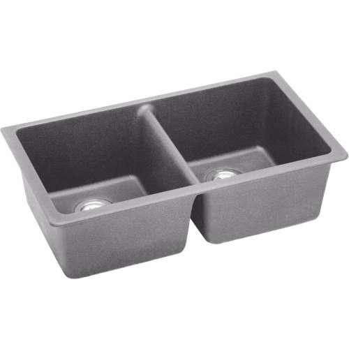 Elkay Quartz Classic 33-In Double-Bowl Undermount Kitchen Sink