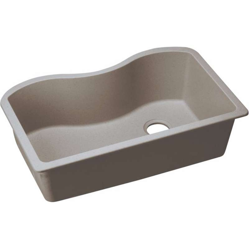 Elkay Quartz Classic Quartz Single-Bowl Undermount Sink