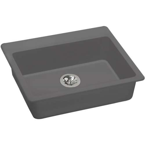 Elkay Quartz Classic 25-In Quartz Drop-In ADA Sink