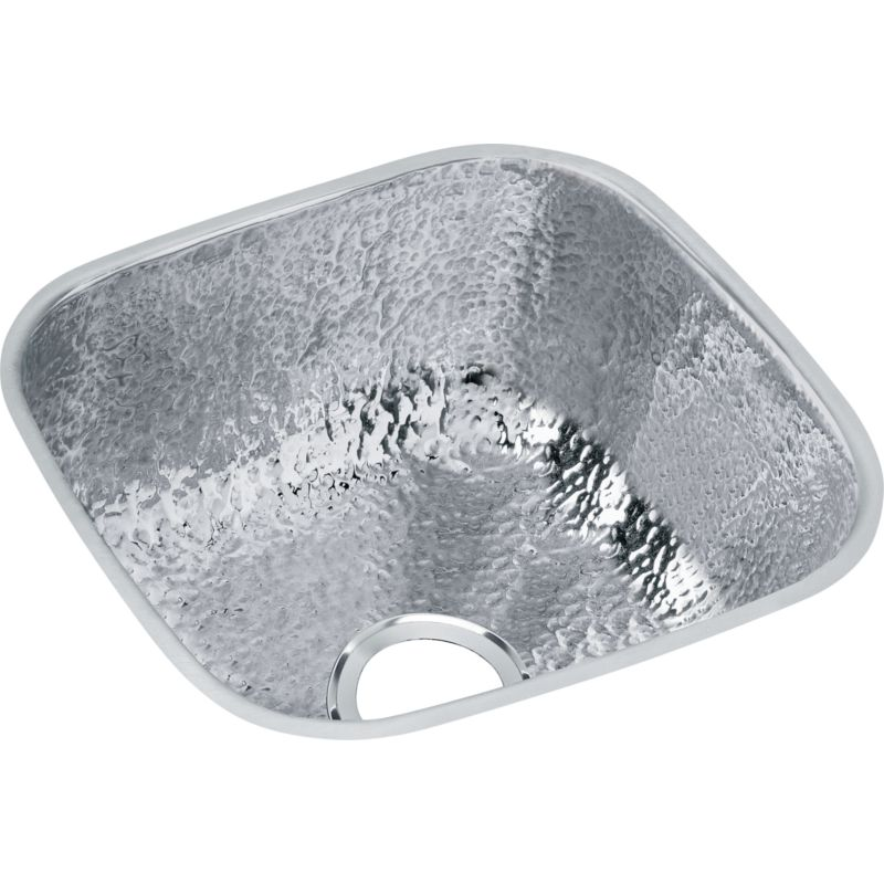 Elkay Gourmet Stainless Steel Single-Bowl Undermount Bar Sink