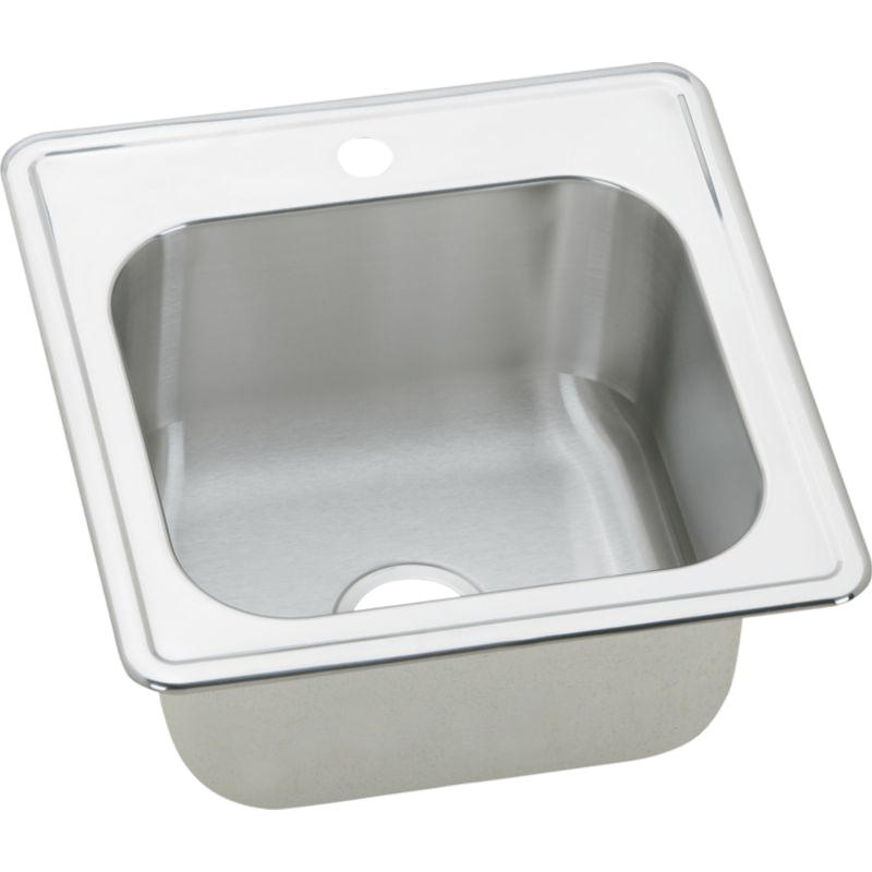 Elkay Gourmet Stainless Steel Single-Bowl Top-Mount Sink