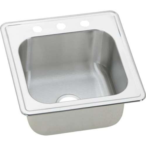 Elkay Celebrity 20-In 20 Gauge Stainless Steel Single-Bowl Drop-In Laundry Sink