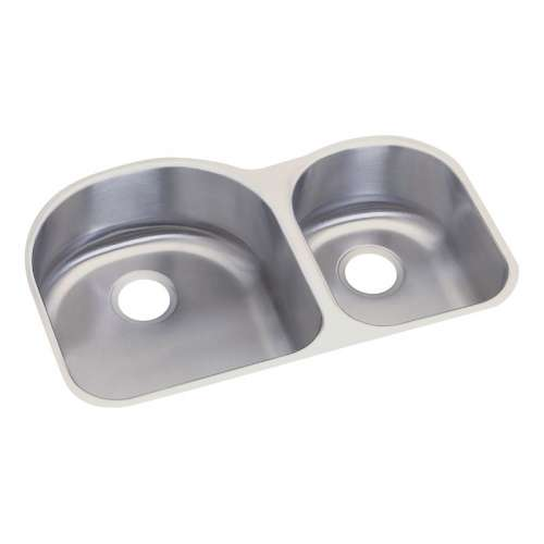 Dayton 31.75-In Stainless Steel Double-Bowl Undermount Bar Sink
