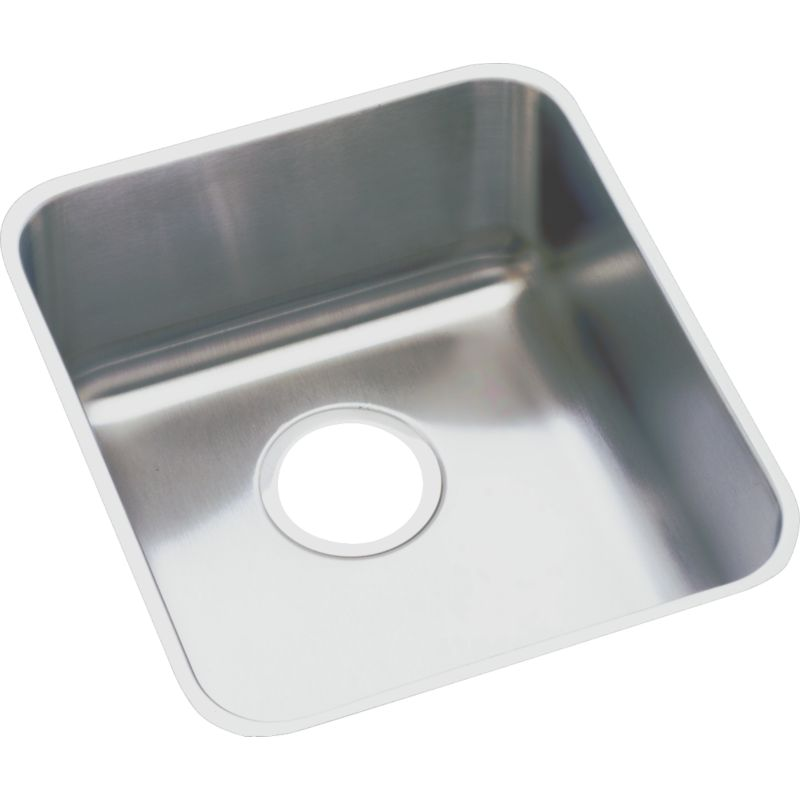 Elkay Gourmet Lustertone Stainless Steel Single-Bowl Undermount Sink