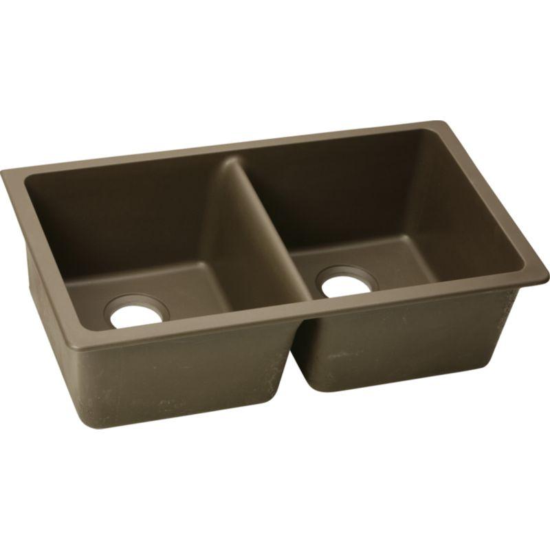 Elkay Gourmet Double-Bowl Undermount Sink