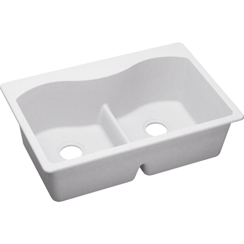 Elkay Harmony Granite Double-Bowl Top-Mount Sink