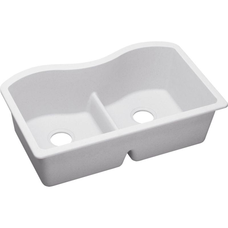 Elkay Harmony Double-Bowl Undermount Sink