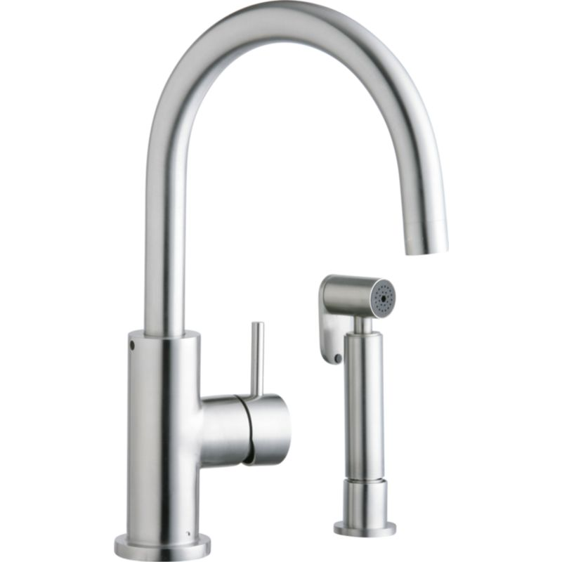 Elkay Allure 2-Hole Kitchen Faucet With Side Spray