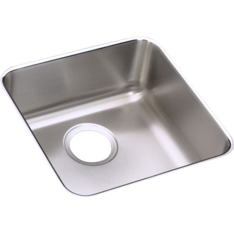 Elkay Lustertone Stainless Steel Single-Bowl Undermount Sink