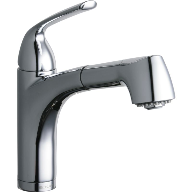 Elkay Gourmet Pull-Out Bar/Prep Single-Hole Faucet