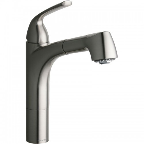 Elkay Gourmet Single-Hole Pull-Out Kitchen Faucet