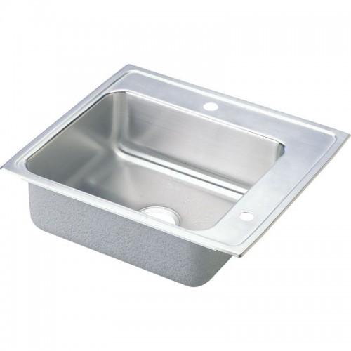 Elkay Lustertone Stainless Steel Single-Bowl Top-Mount Sink