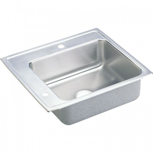 Elkay Lustertone Stainless Steel Single-Bowl Top-Mount Sink