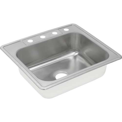 Dayton 25-In Stainless Steel Single-Bowl Top-Mount Sink