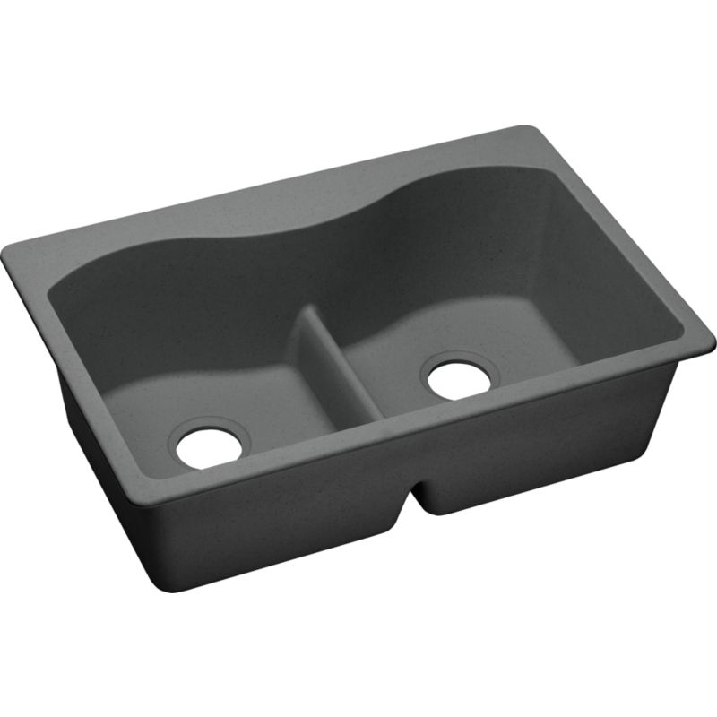 Elkay Harmony Granite Double-Bowl Top-Mount Sink