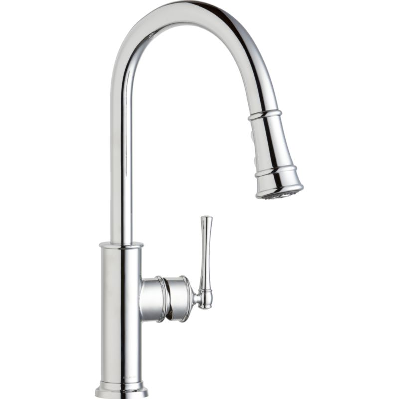 Elkay Explore Single-Hole Pull-Down Kitchen Faucet