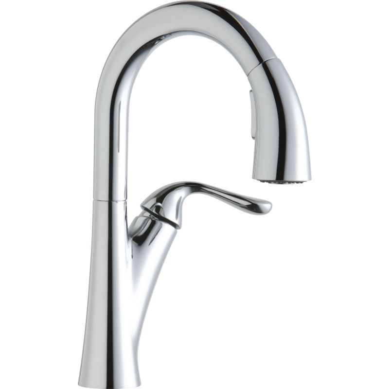 Elkay Harmony Pull-Down Bar/Prep Single-Hole Faucet