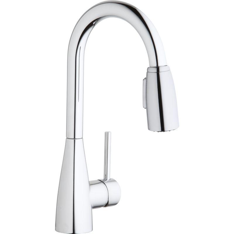 Elkay Avado Pull-Down Bar/Prep Single-Hole Faucet