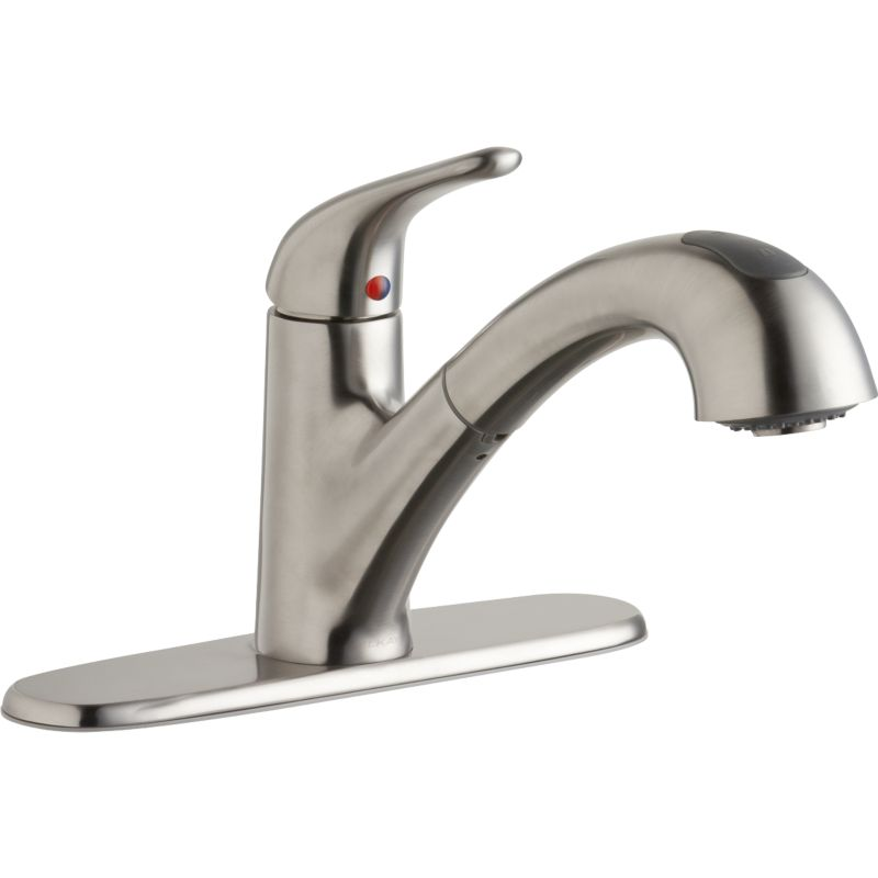Elkay Everyday Single-Hole Pull-Out Kitchen Faucet