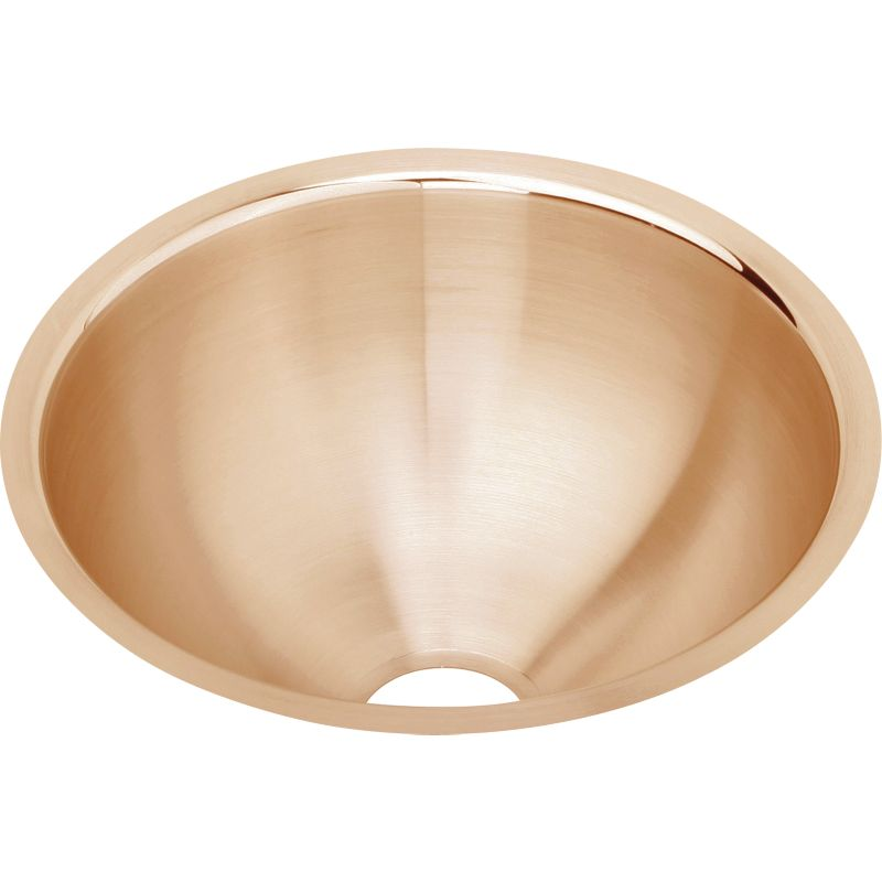 Elkay The Mystic CuVerro Copper Single-Bowl Undermount Sink