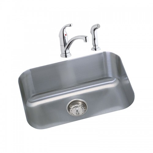 Dayton 23.5-In Stainless Steel Single-Bowl Undermount Bar Sink