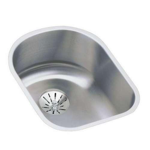 Elkay Lustertone Classic 18-Gauge Stainless Steel Single-Bowl Undermount Sink