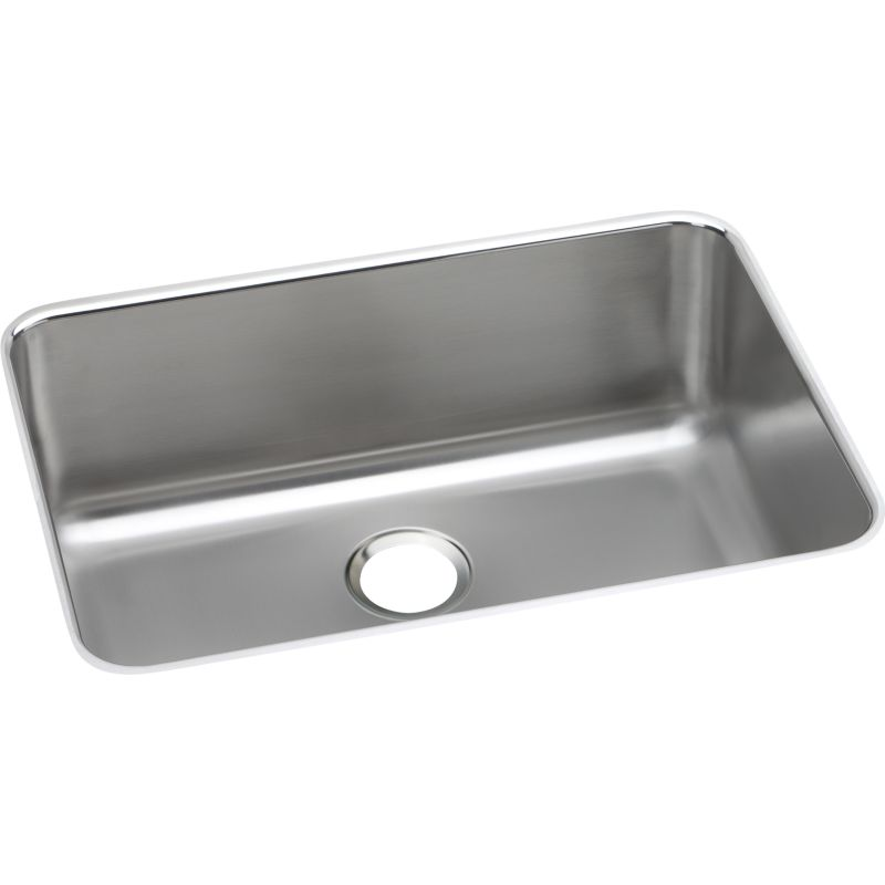 Elkay Gourmet Lustertone Stainless Steel Single-Bowl Undermount Sink
